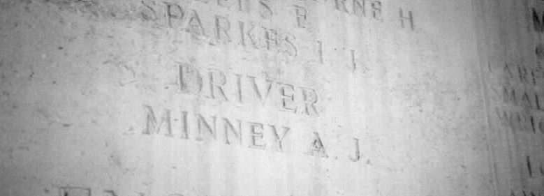 Driver A J Minney Memorial, Chatby, Egypt